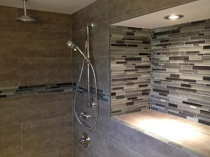 Bathroom renovations, Ohr bathroom remodel