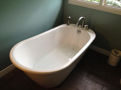 Ohr free standing tub, Bathroom renovations